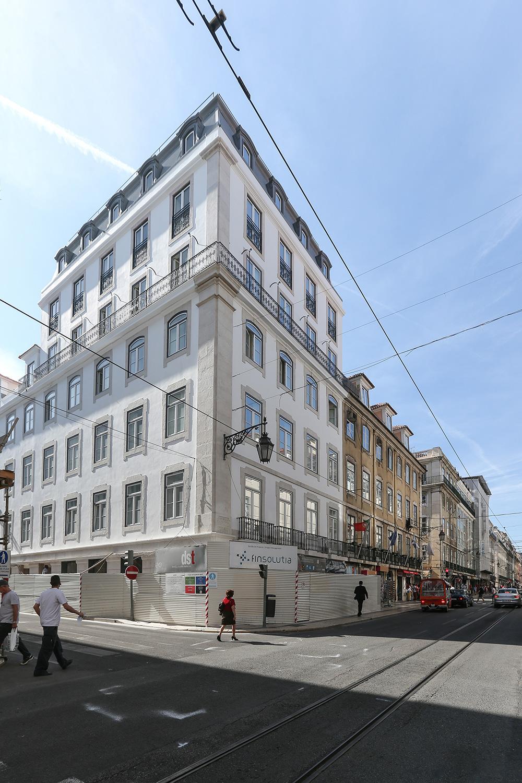 Edifício na Rua da Prata Finsolutia